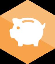 Icon Kosten sparen